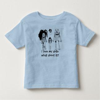 Voodoo-Kleinkind-T - Shirt, Liebe des Blaus I Kleinkinder T-shirt