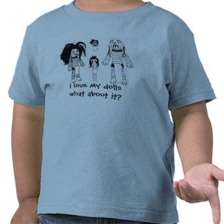 Voodoo-Kleinkind-T - Shirt, Liebe des Blaus I