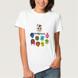 Voodoo-Köpfe Tshirt