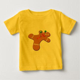 Voodoo-Lebkuchen-Mann-WeihnachtsSpaß Baby T-shirt