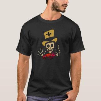 Voodoo-Mann mit roten Panzerkrebsen T-Shirt