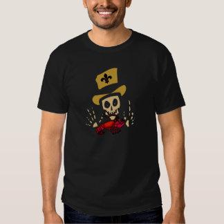 Voodoo-Mann mit roten Panzerkrebsen T-Shirts