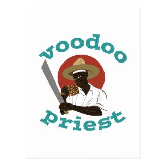 Voodoo-Priester Postkarte