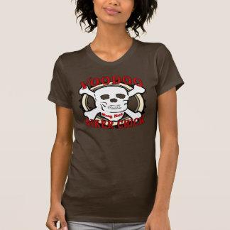 Voodoo-Radfahrer-Küken T-Shirt
