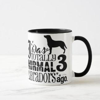 Vor 3 Labradors Tasse