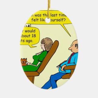 vor 905 18 Katzen Cartoontherapie Keramik Ornament