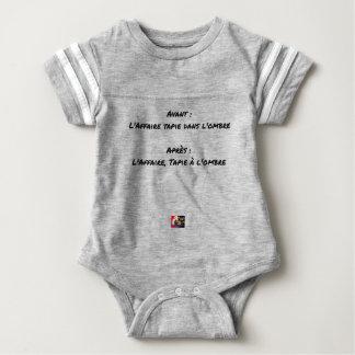 VOR: DIE RECHTSSACHE TAPIE IM SCHATTEN DANACH: DAS BABY STRAMPLER
