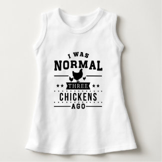 Vor ich war normalen drei Hühnern Kleid