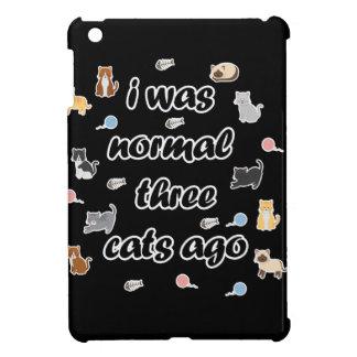 Vor ich war normalen drei Katzen Hülle Für iPad Mini