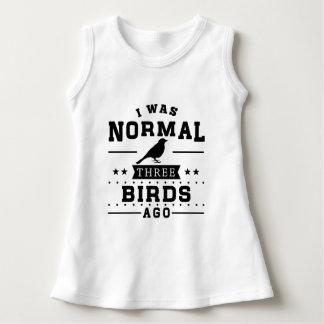 Vor ich war normalen drei Vögeln Kleid