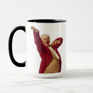 Vor Kaffeegegähne Tasse
