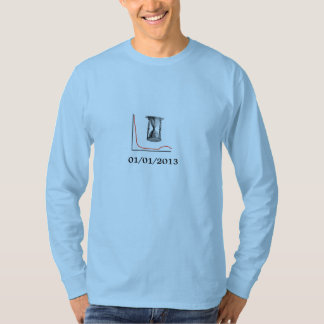 Voran-hourglass-langes Hülsent-stück der T-Shirt