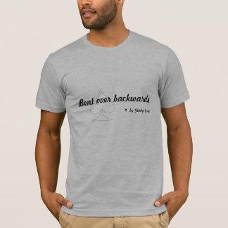 Vorbei rückwärts verbogen T-Shirt
