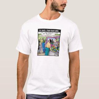 """Vorbildliche Railroaders:  """"Das sachverständige"""" T-Shirt"""