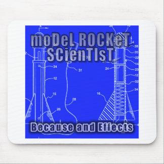 """Vorbildliches Rocket-Wissenschaftler""""weil und Mousepad"""