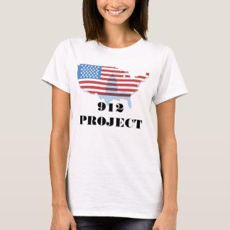 Vorder-Wir das Leute-Zurück 912 Projekt-T-Shirt T-Shirt