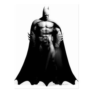 Vorderansicht B/W Batmans Postkarten