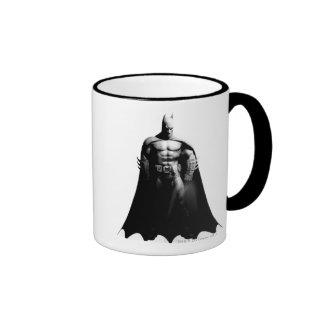 Vorderansicht B W Batmans Kaffee Tassen