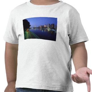 Vordere DU die Seine und Eiffelturm Paris Frankr T-shirt