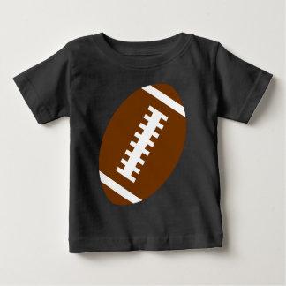 Vordere Fußball-Grafik FUSSBALL-BABY Schwarz-  Baby T-shirt