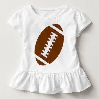 Vordere Fußball-Grafik FUSSBALL-KLEINKIND Weiß-  Kleinkind T-shirt