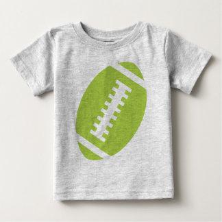 Vorderer Limoner grüner Fußball FUSSBALL-BABY Baby T-shirt