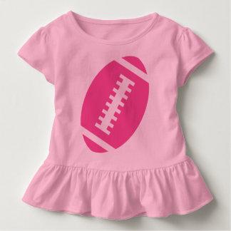 Vorderer rosa Fußball FUSSBALL-KLEINKIND Rosa-  Kleinkind T-shirt