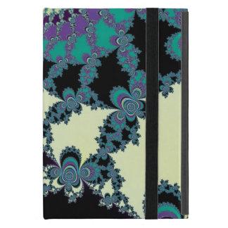 Vorhang-Fraktal-Monogramm-Fall Etui Fürs iPad Mini
