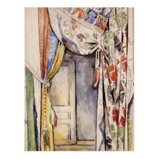 Vorhänge Pauls Cezanne- Postkarte