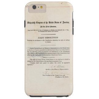 VORLAGE 19. Änderung US-Konstitution Tough iPhone 6 Plus Hülle