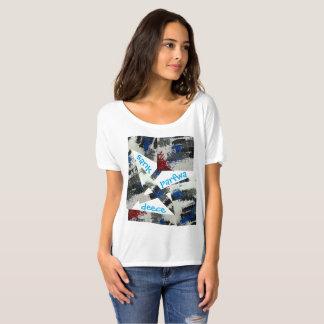 Vorlage sank Parfwa Deece Entwurfs-Freund-T-Stück T-Shirt