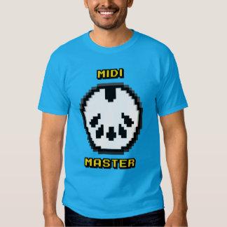 Vorlagen8bit Chiptunes T - Shirt Midis