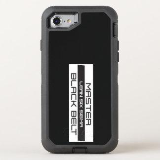 Vorlagenschwarzer Gürtel OtterBox Apple iPhone OtterBox Defender iPhone 8/7 Hülle