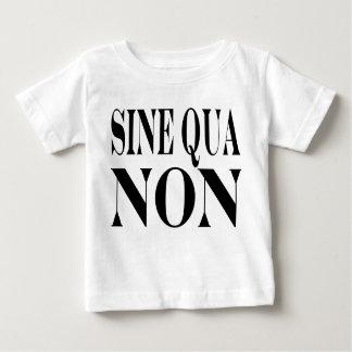 Vorraussetzungs-berühmtes lateinisches Zitat: Baby T-shirt