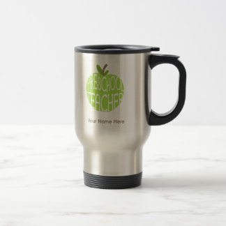Vorschullehrer-Tasse - grüner Apple