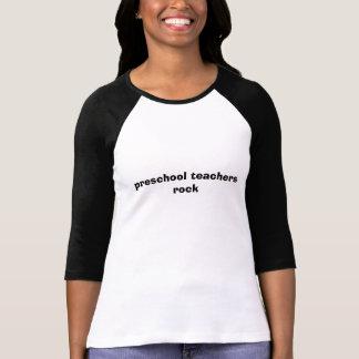 Vorschullehrerfelsen T-Shirt
