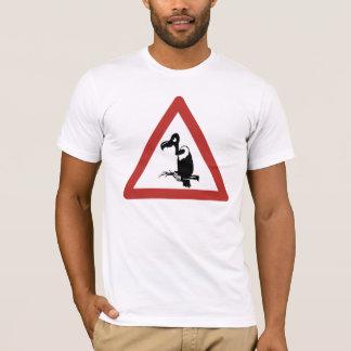 Vorsicht-Geier, handeln Warnzeichen, Namibia T-Shirt