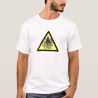 Vorsicht KRAKE - Cthulu - Gefahrenalarm! T-Shirt