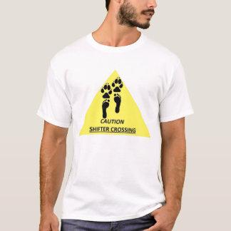 Vorsicht-Schieber-Überfahrt T-Shirt