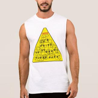 Vorsicht-schlechtes TagesShirt Ärmelloses Shirt