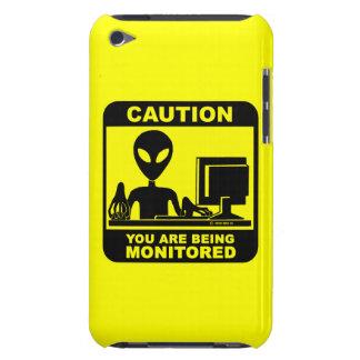 Vorsicht! Sie werden überwacht Case-Mate iPod Touch Hülle