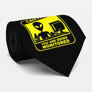 Vorsicht! Sie werden überwacht Krawatte
