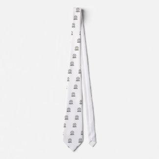 vorsichtiger Kreis Krawatte