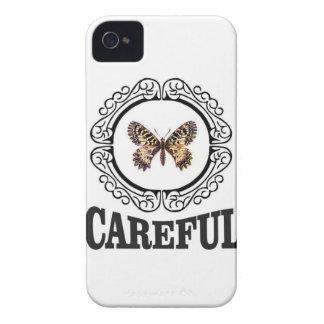 vorsichtiger Schmetterling iPhone 4 Case-Mate Hüllen
