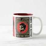 Vorsitzendermeow-Propaganda-Kaffee-Tasse
