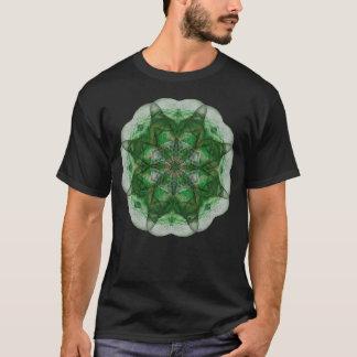 Vorstellungs-Mandala (Grün) T-Shirt