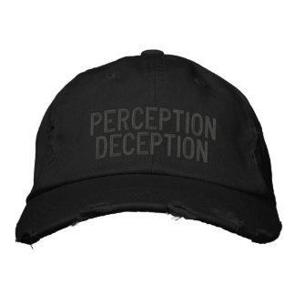 Vorstellungs-Täuschung Bestickte Kappe