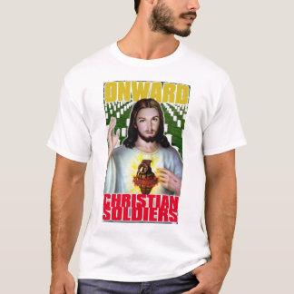 Vorwärts christliche Soldaten T-Shirt