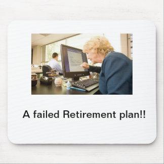 Vorzeitige Pensionierung Mauspad
