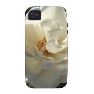 vorzügliche weiße Rose Case-Mate iPhone 4 Cover